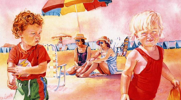 Селеста Энрикес. Пляж