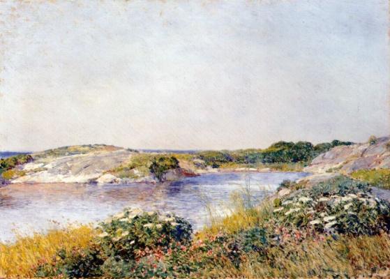 Childe Hassam. Little pond, Appledore