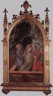 Fra Filippo Lippi. The descent from the cross