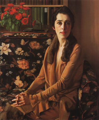 Константин Андреевич Сомов. Портрет Луизы Морган