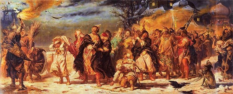 Jan Matejko. Ivan the Terrible