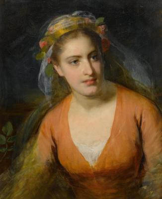 Фридрих фон Амерлинг. Портрет Анны Крафт.
