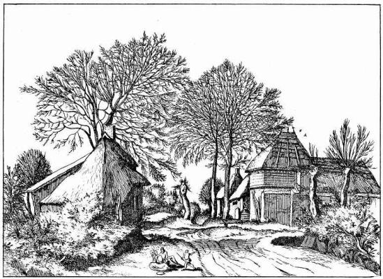 "Pieter Bruegel The Elder. The series ""Small landscapes"". Landscape # 7"