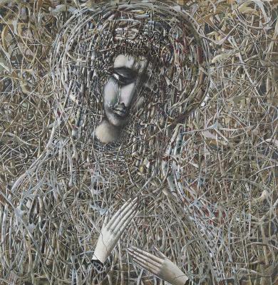 Ivan Stepanovich Marchuk. Ukrainian Madonna (Madonna Chernobyl)