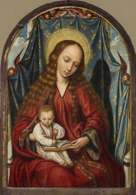 Quentin Masseys. Madonna and Child Christ