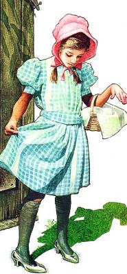 Чарльз Сантор. Девочка в розовой шляпе