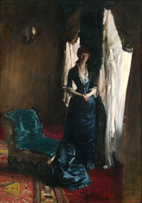 John Singer Sargent. Madame Paul Escudier (Louise Lefevre)