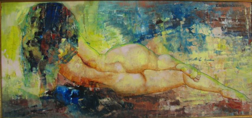 Vyacheslav Yakovlevich Pobozhensky. Nude