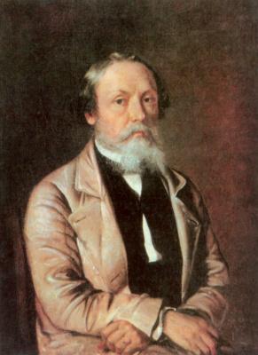 Ivan Fomich (Trofimovich) Khrutsky. Self-portrait