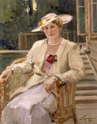 Александр Михайлович Герасимов. Портрет А.К.Тарасовой. 1939