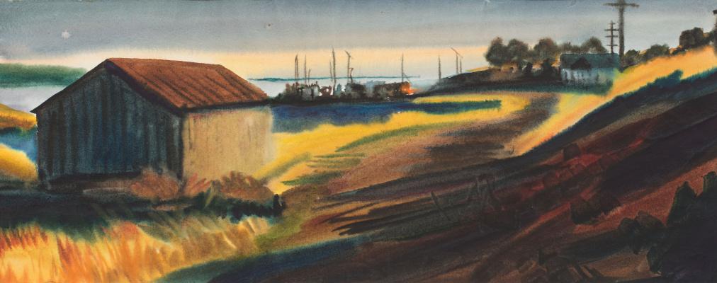Виктор Михайлович Бородин. The road to the pier