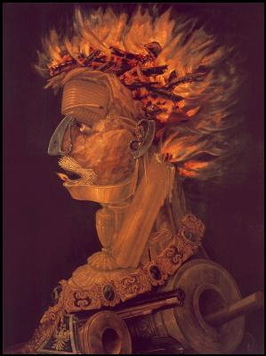 Джузеппе Арчимбольдо. Огонь