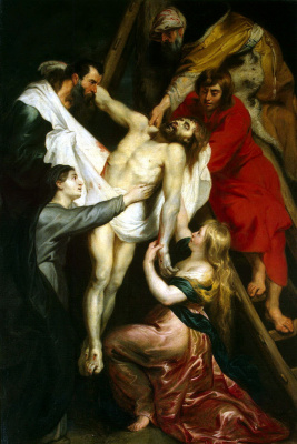 Peter Paul Rubens. Descent from the Cross