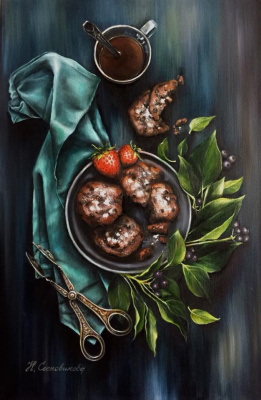 Hope Sosnovikova. Strawberry cookies
