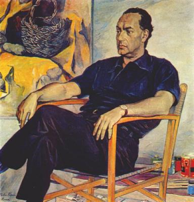 Павел Дмитриевич Корин. Портрет Ренато Гуттузо