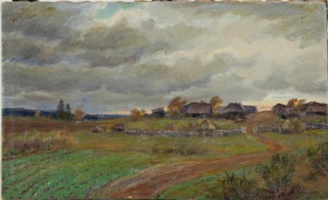 Сергей Анатольевич Емельянов. Winter. Windy