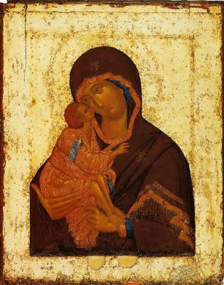 XІV Русский  иконописец  века. Донская Богородица