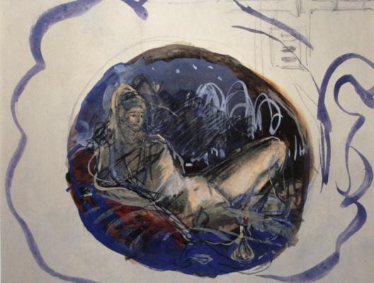 Zinaida Serebryakova. Turkey. Sketch of murals for the Kazan railway station in Moscow