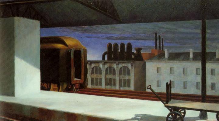 Edward Hopper. Dawn in Pennsylvania