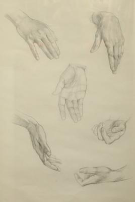 Сергей Георгиевич Леконцев. Руки