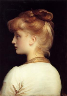 Frederic Leighton. Girl