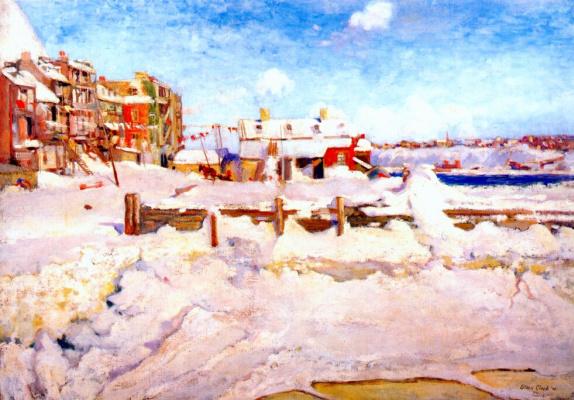 Кларк. Зима в Квебеке
