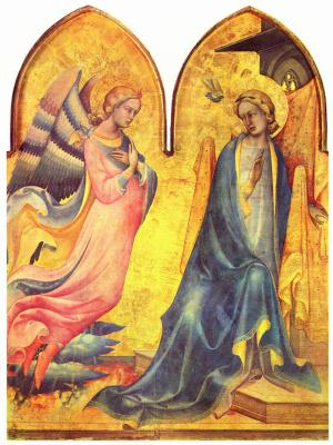 Don Lorenzo Monaco. The Annunciation