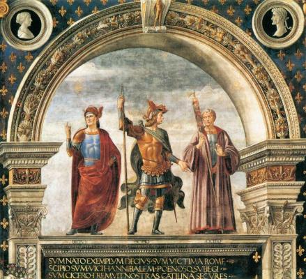Доменико Гирландайо. Фреска в Зале Лилий