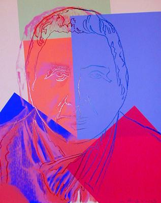 Andy Warhol. Portrait Of Gertrude Stein