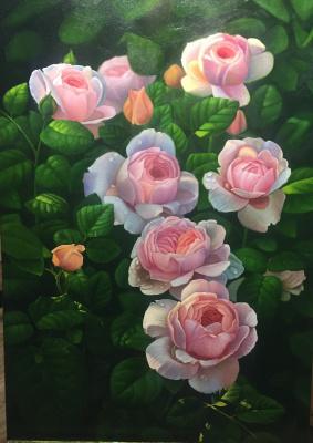 Anastasia Alekhine. Roses