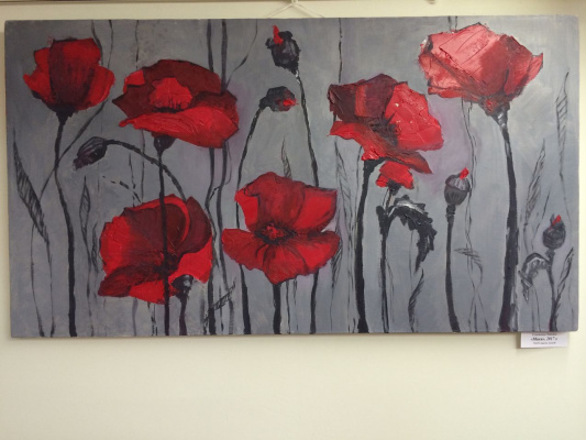 Tatyana Semeshkina. Poppies