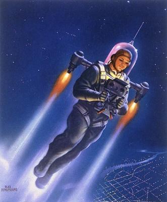 Алекс Шомбург. Полет в космосе