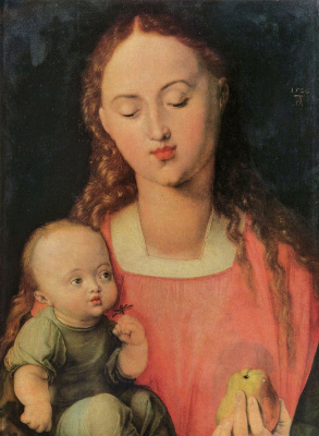Albrecht Durer. Mary with child