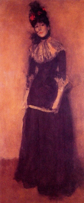 James Abbot McNeill Whistler. Rose and silver: the Pretty bully