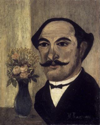 Henri Rousseau. Self Portrait