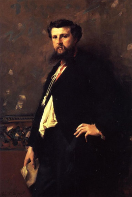 John Singer Sargent. Edward Pieron
