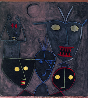 Paul Klee. Puppets