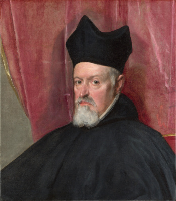 Diego Velazquez. Portrait of Fernando de Valdes and the Llanos