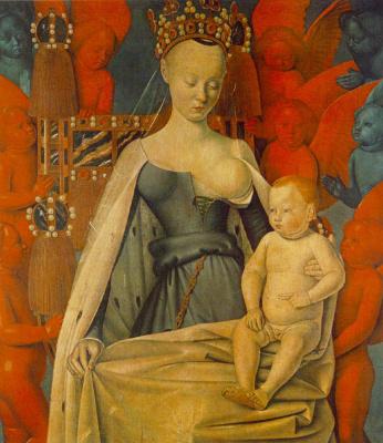 Жан Фуке. Мадонна