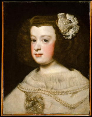 Диего Веласкес. Портрет инфанты Марии Терезии