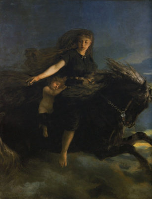 "Peter Nikolay Arbo. ""Night on Khrimfaksi"""
