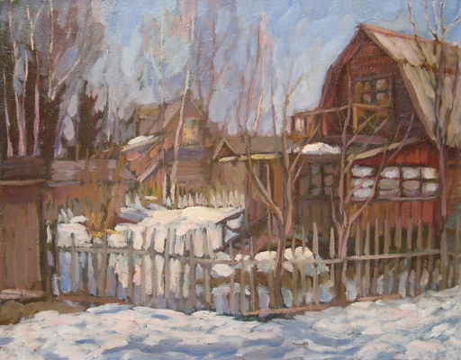 Alexey Vladimirovich Konstantinov. Our house in March