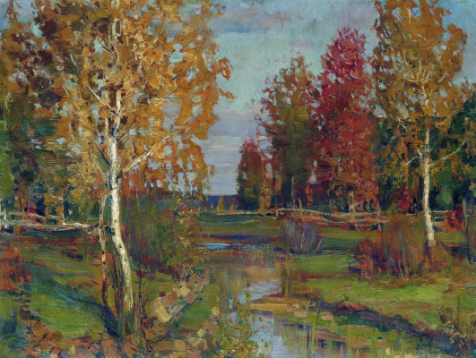 Isaac Levitan. Autumn
