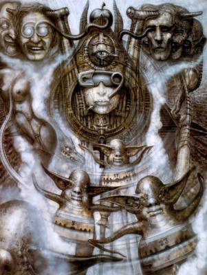Hans Rudolph Giger. Illuminati