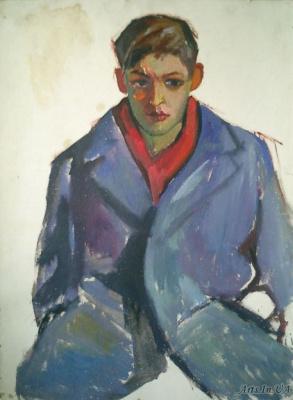 Владислав Акимович Потехин. Портрет юноши