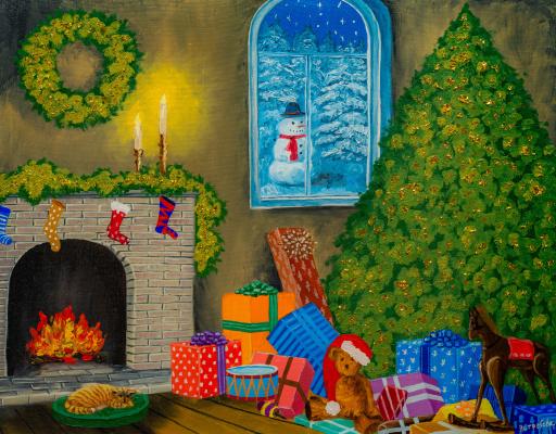 Arina Yuryevna Yastrebova. Christmas dreams