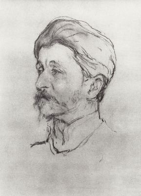 Валентин Александрович Серов. Портрет художника М.А. Врубеля