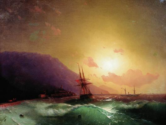 Ivan Constantinovich Aivazovski. Off the coast of Yalta