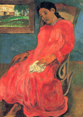Paul Gauguin. Melancholy