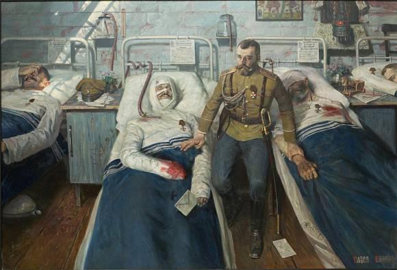 Pavel Viktorovich Ryzhenko. Hospital
